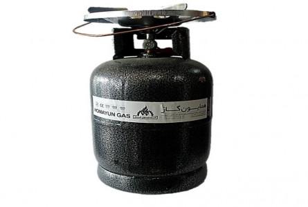 پیک نیک همایون گاز حجم 5 کیلوگرم